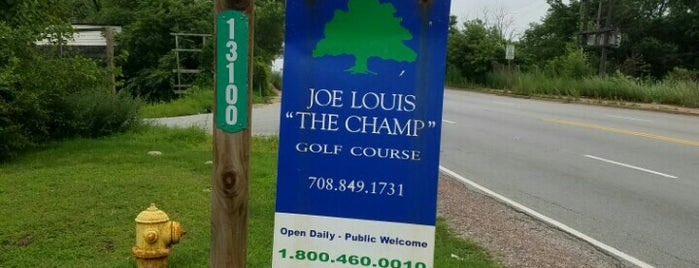 Joe Louis Golf Course is one of Brandon : понравившиеся места.