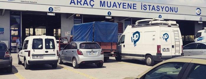 TÜVTÜRK Araç Muayene İstasyonu is one of สถานที่ที่ Hakan ถูกใจ.