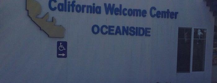 California Oceanside Welcome Center is one of Locais curtidos por Özel.