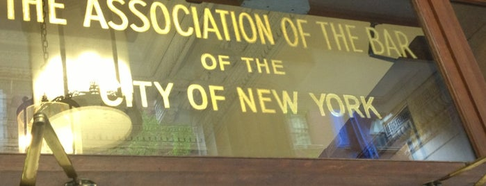 New York City Bar Association is one of Personal NY.