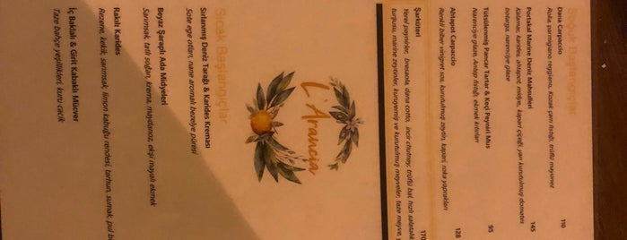 L'arancia Brasseria is one of Ayvalık.