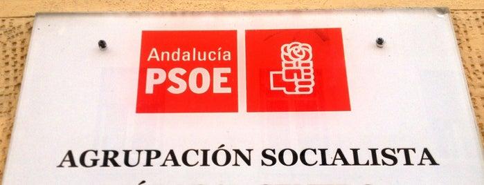 Agrupación PSOE Málaga Centro is one of PSOE de Málaga'nın Beğendiği Mekanlar.