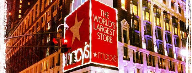 Macy's is one of Trip to New York City.