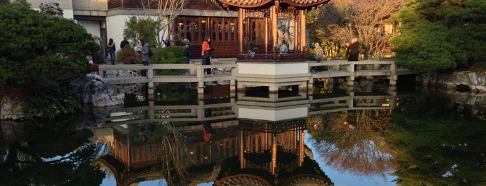 Lan Su Chinese Garden is one of Portland/Oregon.
