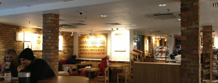 Pret A Manger is one of International.