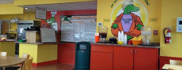 Crocodile Cafe is one of Posti che sono piaciuti a Mike.