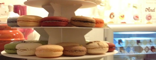 Chantal Guillon Macarons & Tea is one of Int'l Random Places.