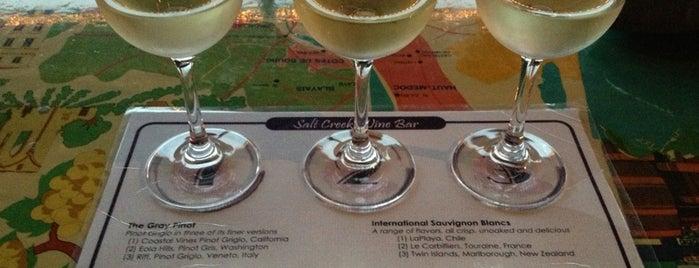 Salt Creek Wine Bar is one of Chicago Wine Bars.