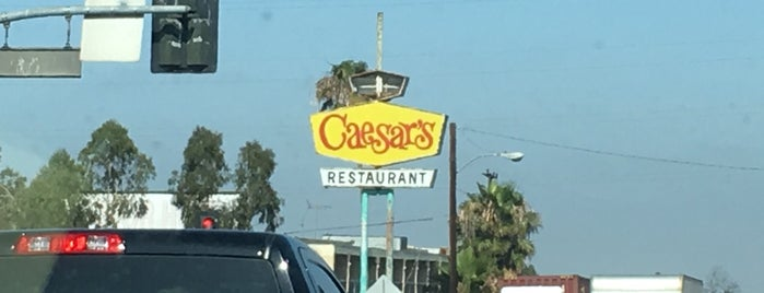 Caesars Restaurant is one of Escape to LA.