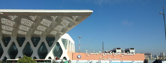 Marrakech Menara Airport (RAK) is one of Airports - worldwide.