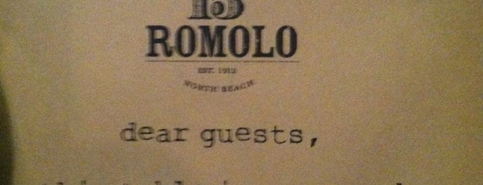 15 Romolo is one of Eat & Drink San Francisco.