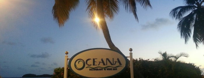 Oceana is one of St.Thomas/St.John & Virgin Gorda.