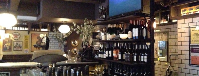 Vanguard Wine Bar is one of NewYork Places....