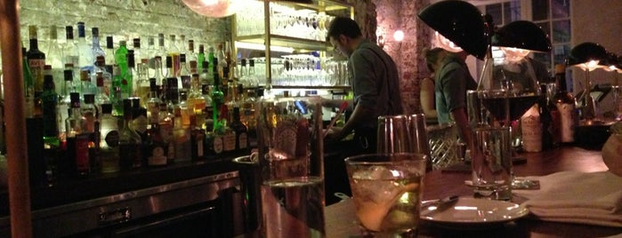 The Musket Room is one of New York Cocktails.