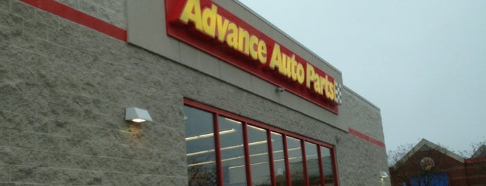 Advance Auto Parts is one of Orte, die Daron gefallen.