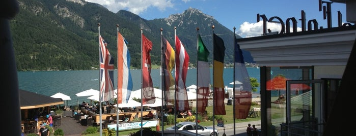 Strandhotel Entner Pertisau is one of Tims favorite places.