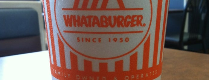 Whataburger is one of Fast but Yum..