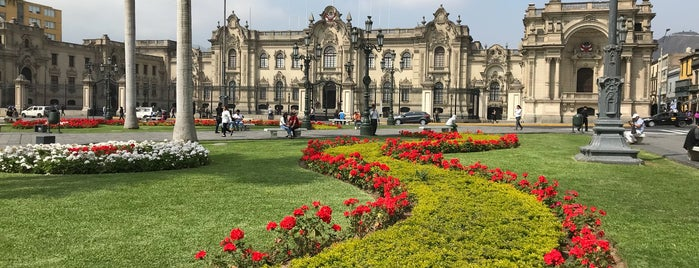 Main Square is one of Peru.