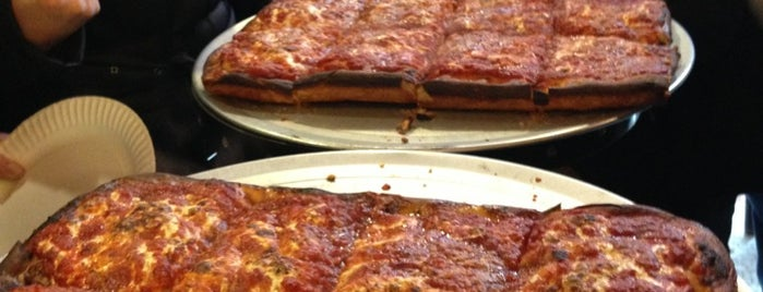 Prince Street Pizza is one of Great Square Slices in NYC.