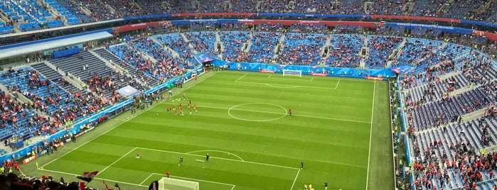 Gazprom Arena is one of Lieux sauvegardés par Zenit Football Club.