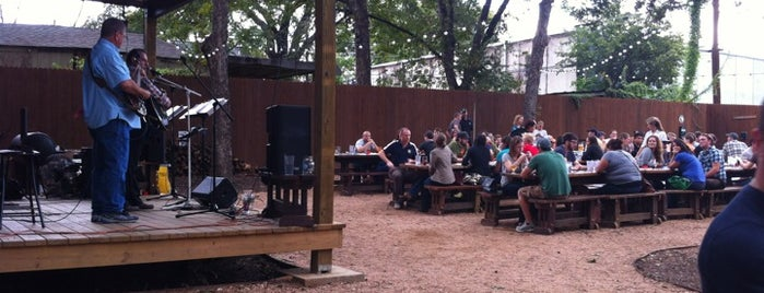 Banger's Sausage House & Beer Garden is one of Austin Patio.