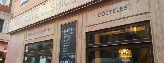 Café Cósmico is one of Tapas.