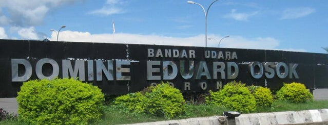 Bandara Dominique Edward Osok (SOQ) is one of Airport.