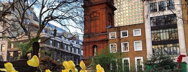 Soho Square is one of London Favorites.