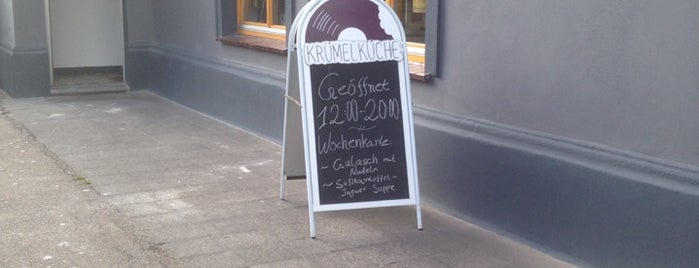 Krümelküche is one of Burgerläden & Co.