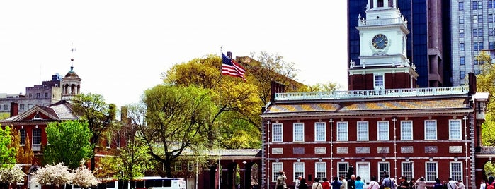 Independence National Historical Park is one of National Recreation Areas.
