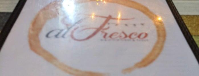 Al fresco is one of Puerto Rico.