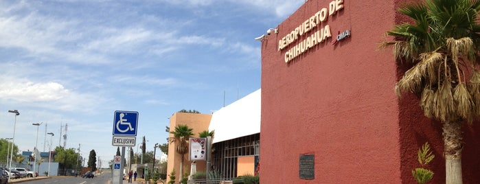 Aeropuerto Internacional de Chihuahua (CUU) - Gral. Roberto Fierro Villalobos is one of สถานที่ที่ Jhalyv ถูกใจ.