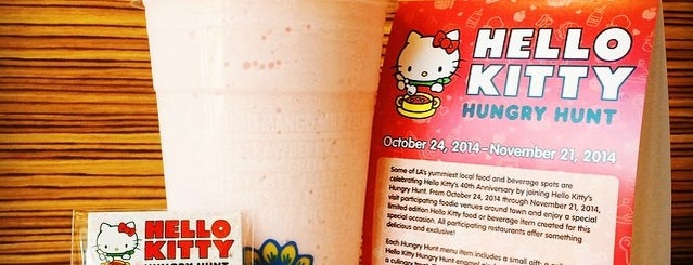 Lollicup is one of Hello Kitty Hungry Hunt.