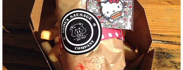 Seoul Sausage Company is one of Hello Kitty Hungry Hunt.