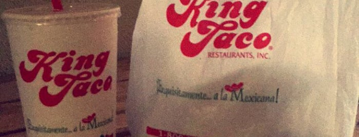 King Taco is one of Locais curtidos por Michelle.