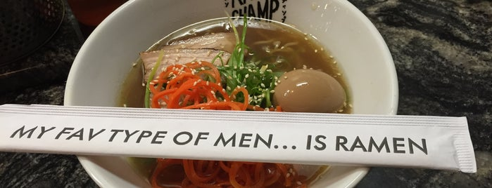 Ramen Champ is one of LA.