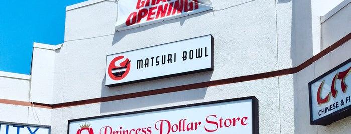 Matsuri Bowl is one of Lugares favoritos de Raziq.