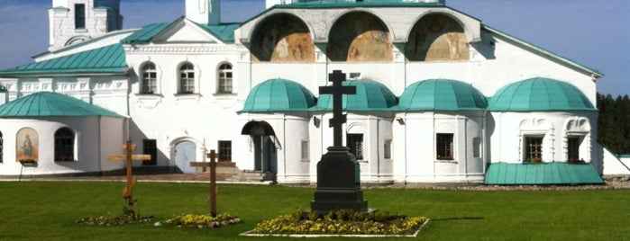 Свято-Троицкий Александра Свирского мужской монастырь is one of Russia10.