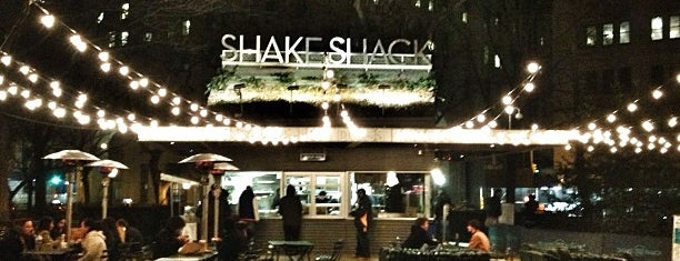 Shake Shack is one of Pelin's NYC Favs.
