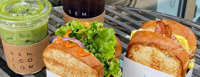Semicolon Cafe is one of Lugares guardados de Lisa.