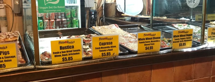 Pizza Rustica is one of Best Slices Pizza Delray Beach.