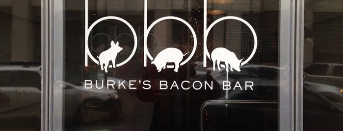 Burke's Bacon Bar is one of Chicago Avero Partners - National.
