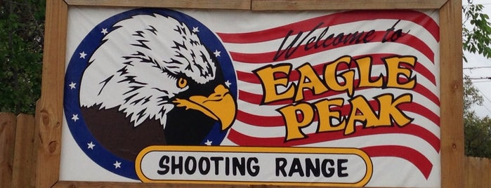 Eagle Peak Shooting Range is one of Austin Entertainment.