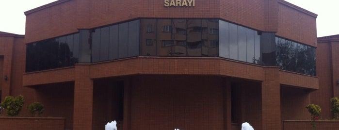 Eskişehir Büyükşehir Belediyesi Sanat ve Kültür Sarayı is one of my favorites.
