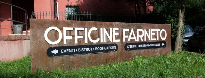 Officine Farneto is one of Rome Lifestyle Guide.