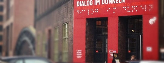 Dialog im Dunkeln is one of To-visit in Hamburg.