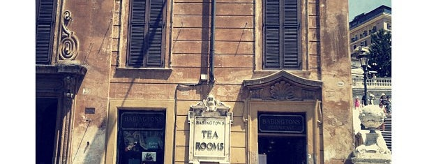Babington's Tea Room is one of Rome.