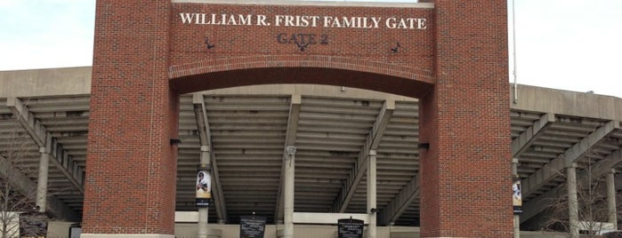 Vanderbilt Stadium - Dudley Field is one of dos....