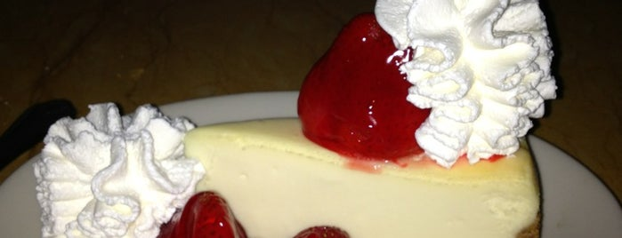 The Cheesecake Factory is one of Sweet Tooth Vegas.