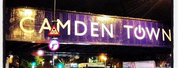 Camden Town is one of Inglaterra.